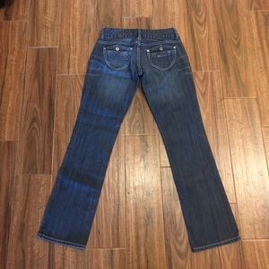 Guess Estelle Straight Blue Pockets Jeans Sexy 27